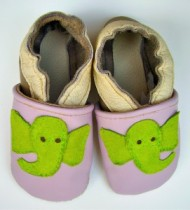 Elephant Baby Booties by Deborah Anderson