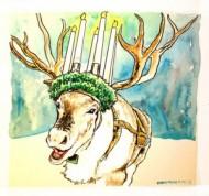 Rein Santa Lucia Deer by David Mejia