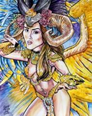 Spirit Flight of Aphrodite by David Mejia