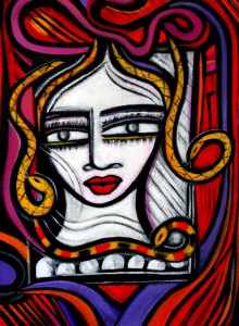 Medusa's Mugshot by Sara Tomasello