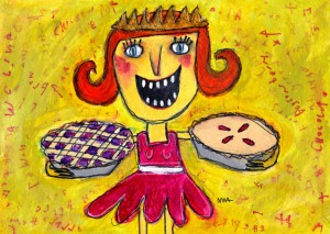 Pie Queen by Murphy Adams