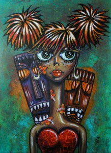 Wild Wahine by Christine Benjamin