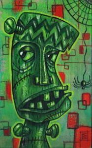 Tiki Frankie by Christine Benjamin