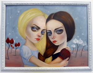 Snow White & Red Rose by Nadja Martens