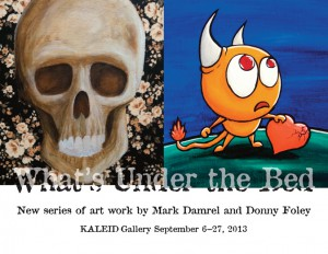 What's Under the Bed – September 2013 Feature Exhibit