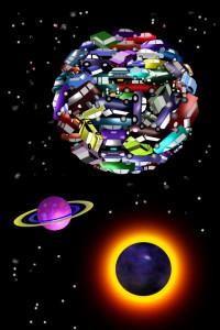 THE COMMUTER'S WORLD by John Kurtyka