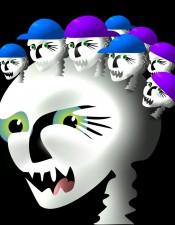 Skull Caps by John Kurtyka
