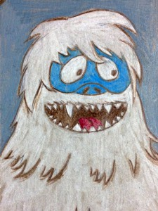 Bumble The Abominable Snowman by JoAnn Yada