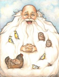 Man Beard by Celeste Young Moss