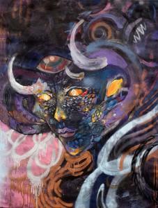 Four Artists, Live Collaborations by Al Preciado, Theresa Merchant, Nekyua, Jay Cee