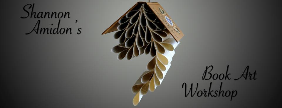 Book Art Workshop with Shannon Amidon April 11, 2015