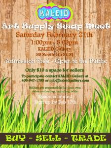 Art Supply Swap Meet!