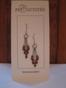 5 Resistor Drop Earrings by Angela Elsey