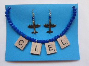Ciel (Sky) Necklace by Angela Elsey