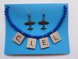 Ciel (Sky) Necklace by Angela Elsey