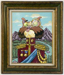 Col. Josephus Kitten Giggles by John Hageman Jr.