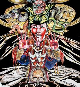 Shamanism: Images of a Mythic Journey by David Mejia
