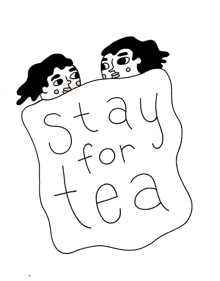 Stay for Tea by Kyle Harter February Feature Exhibition