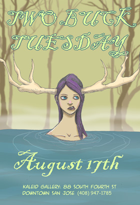 TWO BUCK Tuesday Aug. 17th