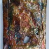 Uranium Copper Lustre Tile 1 by Andrew Irvine