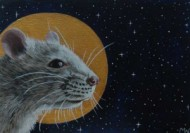 Saint Rattus by Michelle Waters