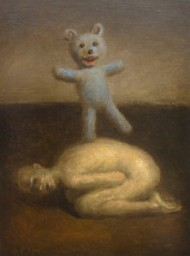 Man with Bear by Avery Palmer