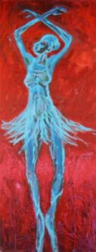 Blue Ballerina by Al Preciado