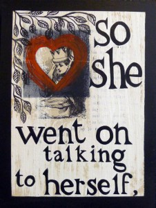 So She Went On Talking to Herself by Michele Guieu