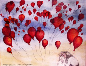 80's Playlist Project 99 Red Balloons by Leah Jay