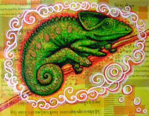 80's Playlist Project Karma Chameleon by Leah Jay