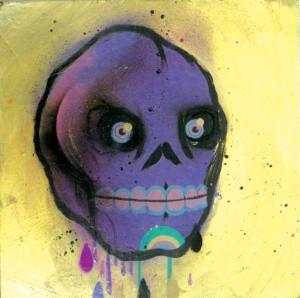 Skull Study by Fernando Amaro