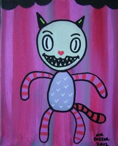 Cat Toy by Nik Caesar