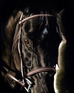 Dark Beauty by Shone Chacko