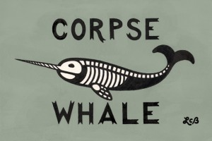 Narwhal Means Corpse Whale in Old Norse by Laura Bennett