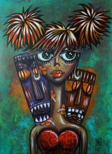 Wild Wahine by Christine Benjamin