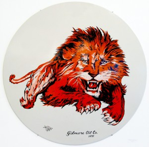 Gilmore Gasoline Lion by Bob Dewhurst (Sign Language)
