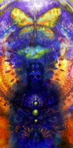 3rd Eye Kaleidoscope by Michael Borja