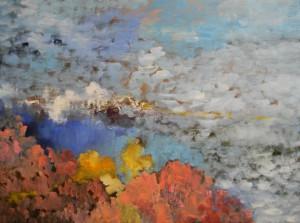 Popcorn Clouds by Kushlani Jayasinha