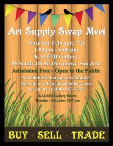 Art Supply Swap Meet
