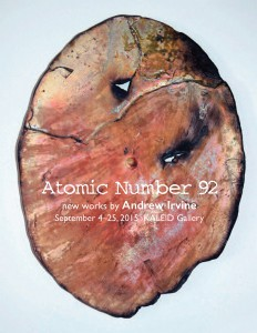 Atomic Number 92 by Andrew Irvine
