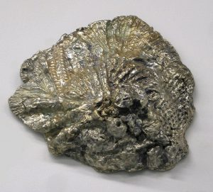 White Gold Nugget by Sandi Billingsley