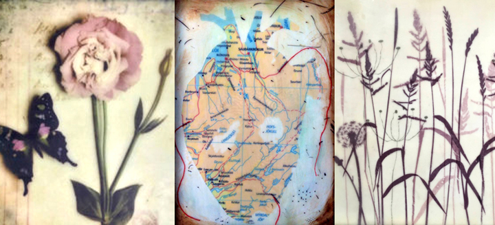 Encaustic Imagery – Embedding and Transfers with Shannon Amidon