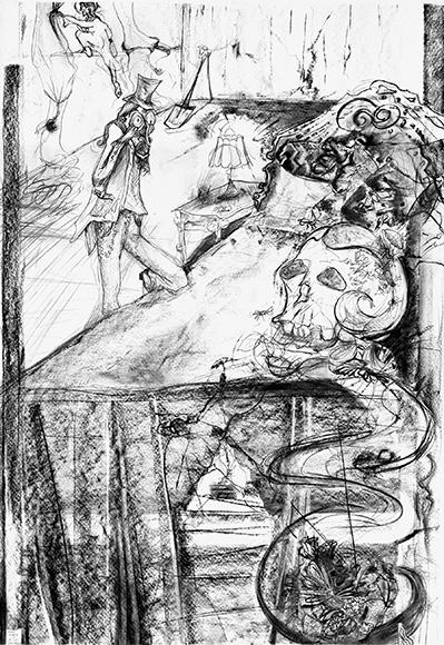 """Helen: Queen of the Flies"" by Julie Barrett _ August Feature Exhibit"