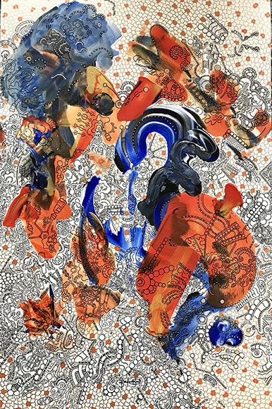 """""""Leaves and Embers"""" by Bryson Bost _ August Feature Exhibit"""